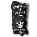 CnP Choppers n Partys Bandana Motorradtuch Schlauchtuch Biker Motorrad Totenkopf Lilie Skull