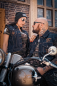 Preview: CnP Choppers n Partys Old School Jeansweste Denim Bestickt (Damen) Biker Motorrad