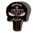 CnP Choppers n Partys Patch Phantom CnP