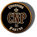 CnP Choppers n Partys Patch - Rund